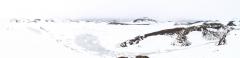 Eyafjallajokul - Panomique du vieux cratère