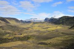 Vue sur Mýrdalsjökull depuis