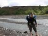 Passage de la rivière Markarfljót pour Manu