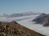 L'Autane et « mer » de nuages