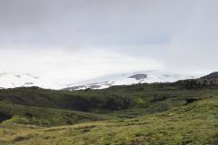 Vues des contreforts d\'Eyafjallajokul (depuis le Sud)