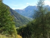 Vue vers Orcières depuis la descente vers la vallée de Champoléon