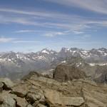 Vue depuis le sommet du Vieux-Chaillol