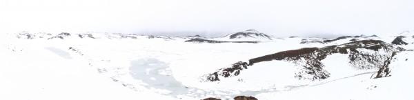 Eyjafjallajökull — Panorama du cratère