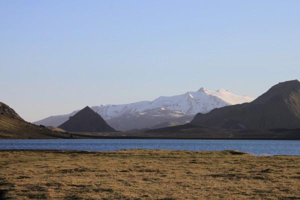 Le lac d'Álftavatn